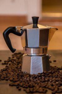 Помол кофе для гейзерной кофеварки и аэропресса
