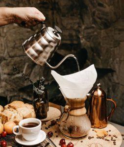 Помол кофе для пуроверов и кемекса