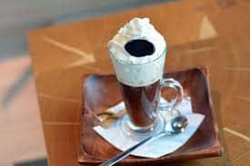 Венский кофе со взбитыми сливками