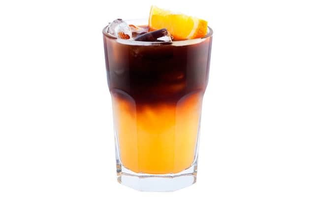 Кофейный апельсиновый коктейль