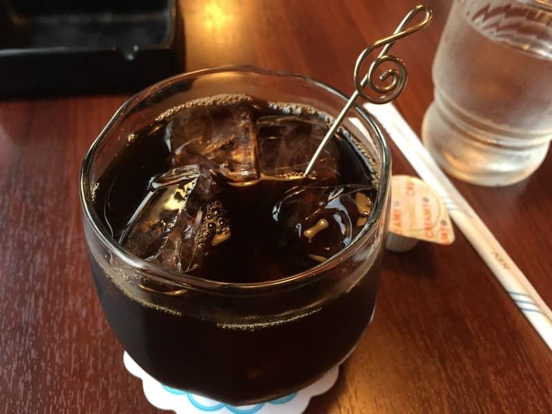 Холодный кофе с коньяком