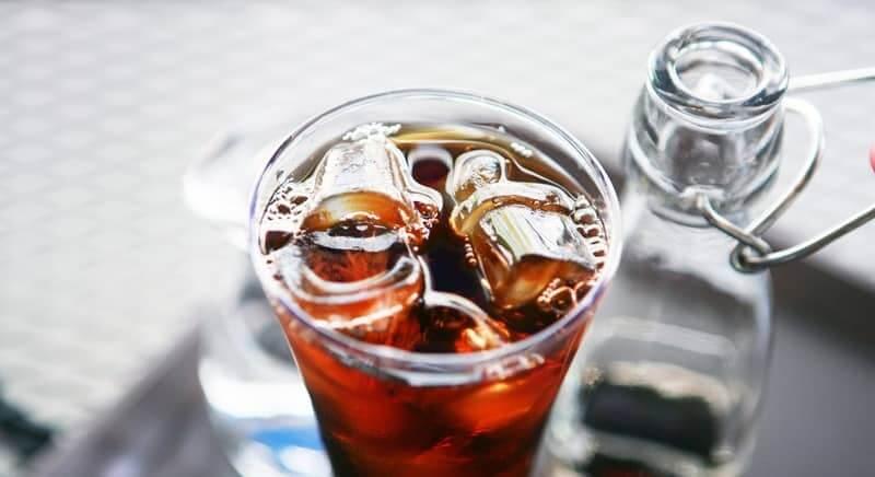 Кофе с текилой и льдом