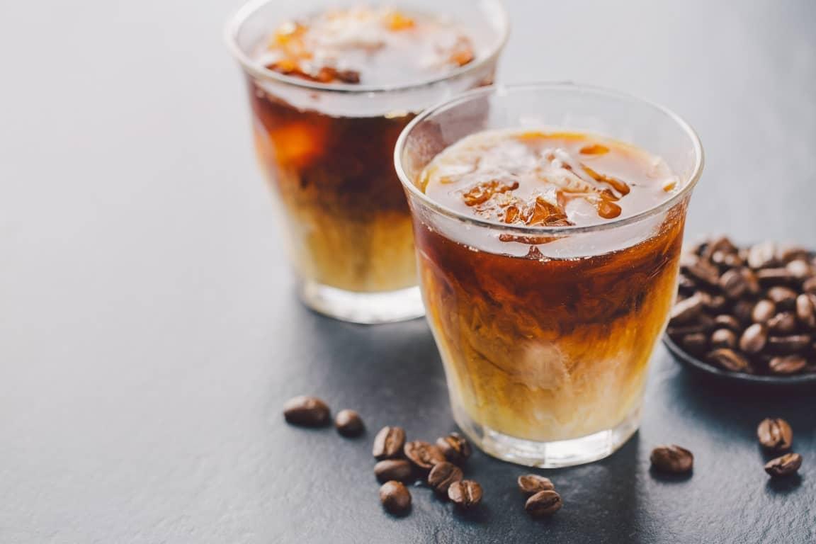 Острый ледяной кофе