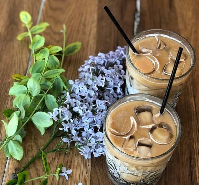 Кофе-льдинка