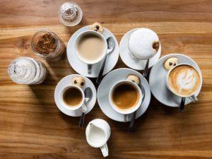 Латте, эспрессо и другие напитки
