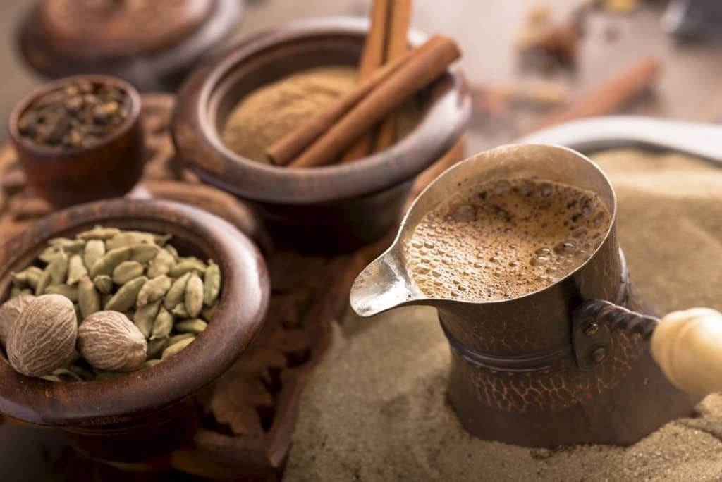 Турецкий кофе с пряностями