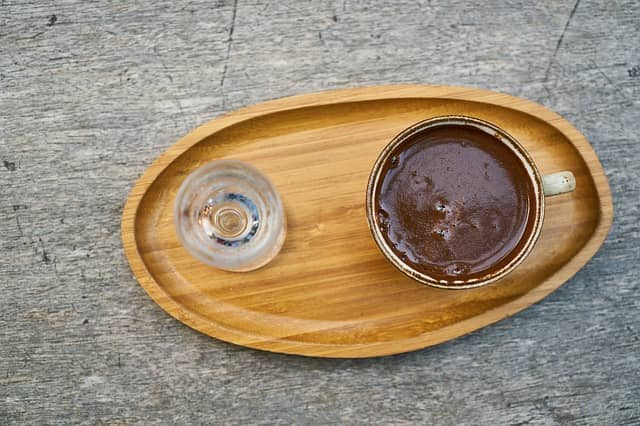 пенка турецкого кофе