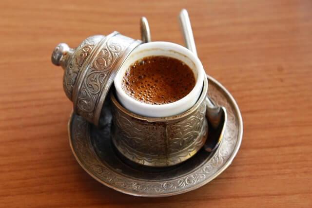 Турецкий кофе с перцем